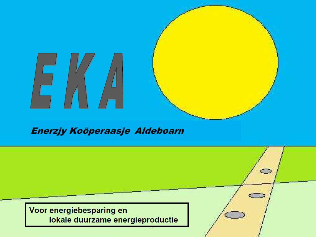 Logo van de Enerzjy Koöperaasje Aldeboarn